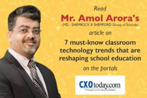School classroom technology trends by Mr Amol Arora