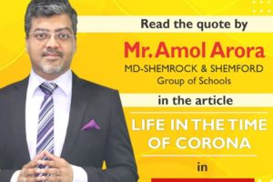 Life in the time of corona by Mr Amol Arora
