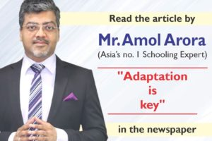 Adaptation is key by Mr amol arora